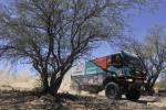 Iveco Powerstar bei einem der härtesten Rallyes der Dakar-Geschichte