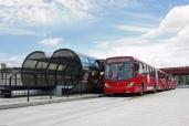 Nachhaltige Beförderung von Fahrgästen nichts schlägt den Bus in seiner Flexibilität