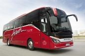 Mit dem Setra-Reisebus über China nach Südamerika