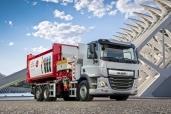 DAF CF Electric mit robustem 6x2 Fahrgestell nun erhältlich