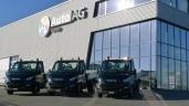 3 Iveco Daily für die BB Bitumen GmbH