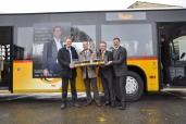 Erfolgreich bei PostAuto: 500 Citaro in vierzehn Jahren