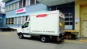 Baggenstos & Co. AG beliefert die Kunden mit dem Sprinter
