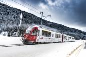 ABB startet ins Jubiläumsjahr mit Allegra-Triebzug im ABB Design