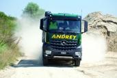 Premiere: Andrey Transporte AG mit dem ersten Arocs der Westschweiz