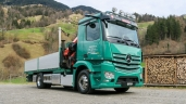 Die Anton Gisler Transport AG setzt auf den Truck of the Year 2020