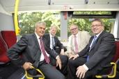 Umwelt im Fokus: 15 neue Volvo-Hybridbusse für die Hamburger Hochbahn AG