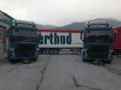 Die ersten Volvo New FH in der Westschweiz bei Berthod