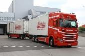 Neuer Scania R500 B 6x2*4 bei der Willi Hochuli AG im Einsatz