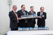 Im Auftrag von Alpha Trains produziert Stadler 28 Regionaltriebzüge