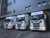 Gleich sechs neue Scania für die Hugelshofer Gruppe unterwegs
