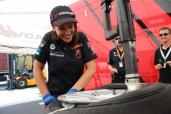 Miss Yokohama bei der WTCC: Debora und die schnellen Männer