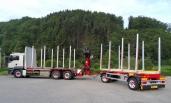 Neuer Leichtbauzug mit hochwertiger Ausstattung für Gaukler Holztransporte