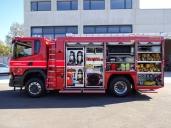 Erstes Feuerwehrfahrzeug der neuen Scania Generation in der Schweiz ausgeliefert