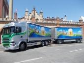 Erster Scania für Casari Transport AG