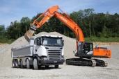 Road-Show für Baumaschinen und Baustellenfahrzeuge