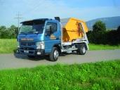 Bläsi Transport AG setzt FUSO Canter 7C18 für den Muldentransport ein