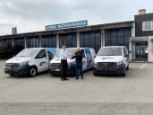Drei neue Mercedes-Benz Vito 114 CDI für die Arbor AG