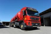 Schneider Agrar-Service mit Volvo FMX 500 X-Track