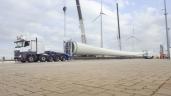Enercon nimmt längste Pendelachspritsche der Welt von Goldhofer in Betrieb