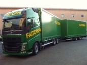Weitere vier grüne Volvo Trucks für Fattorini Autotrasporti