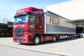 Felix Transport AG setzt auf den neuen Mercedes-Benz Actros «Edition 1»