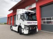 Follonier Transport, ein mittelständisches Familienunternehmen aus dem Wallis, ist rundum zufrieden mit dem neuen T 460 T4x2 von Renault Trucks