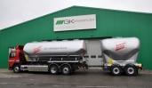 GK Grünenfelder AG liefert erstes Silofahrzeug aus