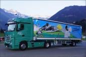 Ein neuer Actros Euro-6 auch für die Anton Gisler Transport AG