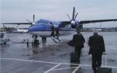 Europäischer Regionalflugmarkt bricht stark ein