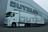 Noch wirtschaftlicher: neuer Actros der Jutzler AG mit Predictive Powertrain Control
