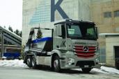 Neuer Antos für neuen Geschäftsbereich der Kieswerk Heimberg AG