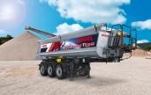 Der gesamte Fahrzeugrahmen Kögel Trucker Tipper – an die Anforderungen der Fahrer angepasst