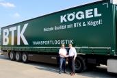BTK Logistik setzt auf über 50 neue Kögel Lightplus
