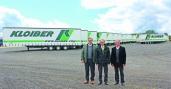 50 Kögel Mega und 15 Containerchassis für KLOIBER
