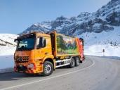 Neu für die Thoma Entsorgung und Recycling AG im Einsatz – Mercedes-Benz Arocs 2540 L 6x2