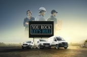 "Mercedes-Benz Vans startet europaweite Kampagne ""You rock, let's roll!"
