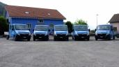Toldo investiert in moderne Mannschaftsbusse und senkt den CO2 Ausstoss.