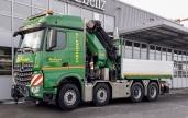 Mercedes-Benz Arocs 3258 L 8x4/4 – neuer imposanter Leistungsträger für die Gafner AG