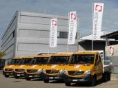 Fünf neue Material- und Personentransporter für die OBERHOLZER Bauleistungen AG