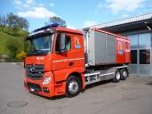 Erster Actros Euro 6 für die Schweizer Feuerwehr