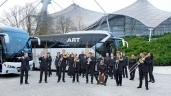 NEOPLAN movingArt auf Tour mit Hans Zimmer