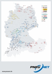 Swiss Tyre Group unterstützt Nfz-Reifenservicenetzwerk PNEUNET