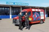 Ringer Club Willisau setzt auf den Mercedes-Benz Sprinter 314 CDI