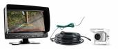 Neues Rückfahrsystem für Wohnmobile und Transporter: Dank dünnem Kabel und 7 mm-Steckverbindung besonders leicht zu verlegen