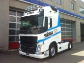 Ein neuer Volvo FH 540 4x2T für Sabesa SA