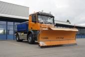 Hält St. Gallen im Schuss: Der neue Arocs des Tiefbauamtes