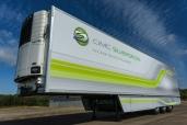 50 CIMC Silvergreen Kühlsattelauflieger für Nicolosi Trasporti, Catania