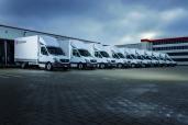Tomy Transporte GmbH mit über 100 Transportern von Mercedes-Benz und 10 neuen Sprinter 316 CDI