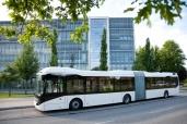 Volvo Busse auf der Busworld Kortrijk 2013: Elektromobilität ist die Zukunft
